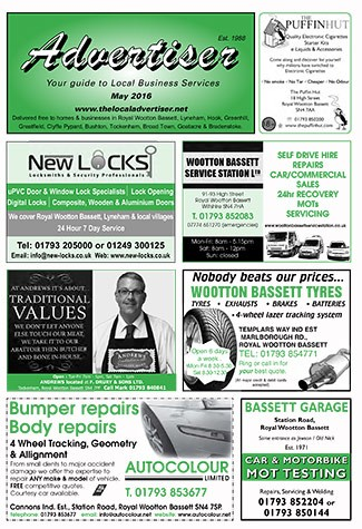 The Advertiser RWB May Edition